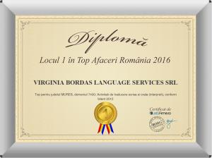 Atelierul de traduceri - Diploma 2015 - 2016