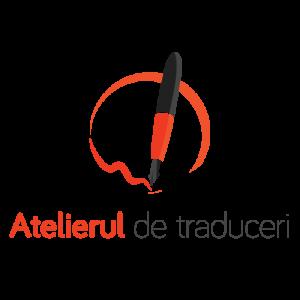 logo. atelierul de traduceri - birou de traduceri
